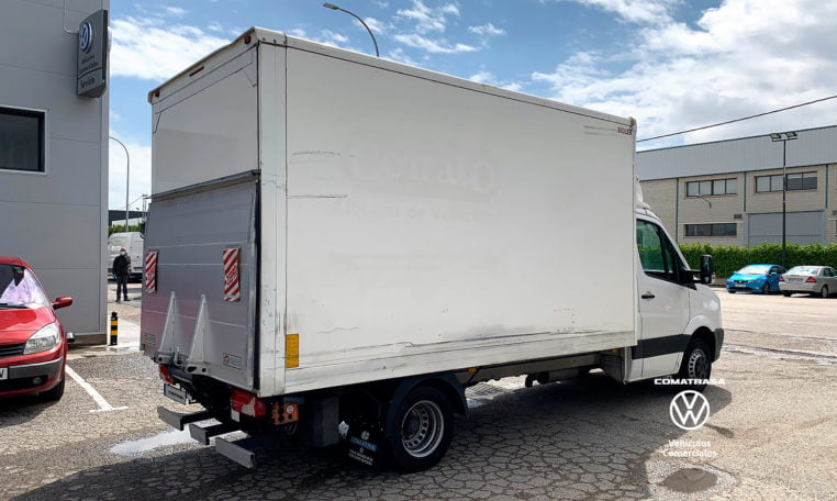 lateral derecho Volkswagen Crafer Plywood 35
