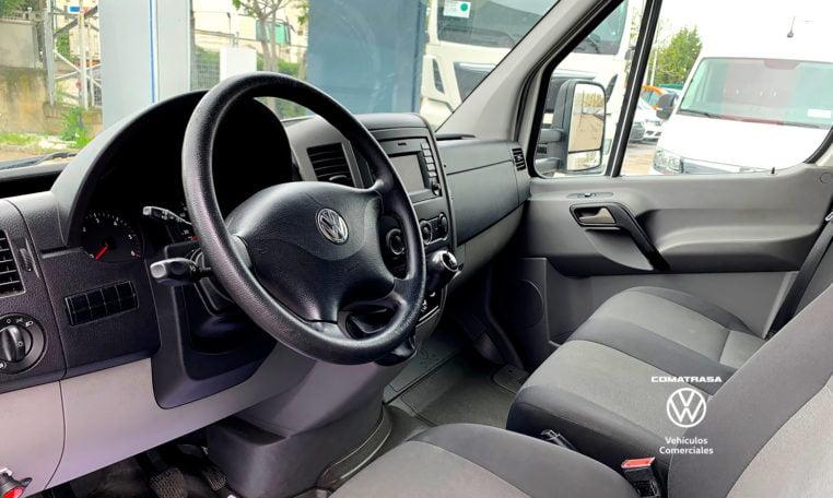 cabina Volkswagen Crafter Plywood 35 2.0 TDI 136 CV Trampilla Zepro