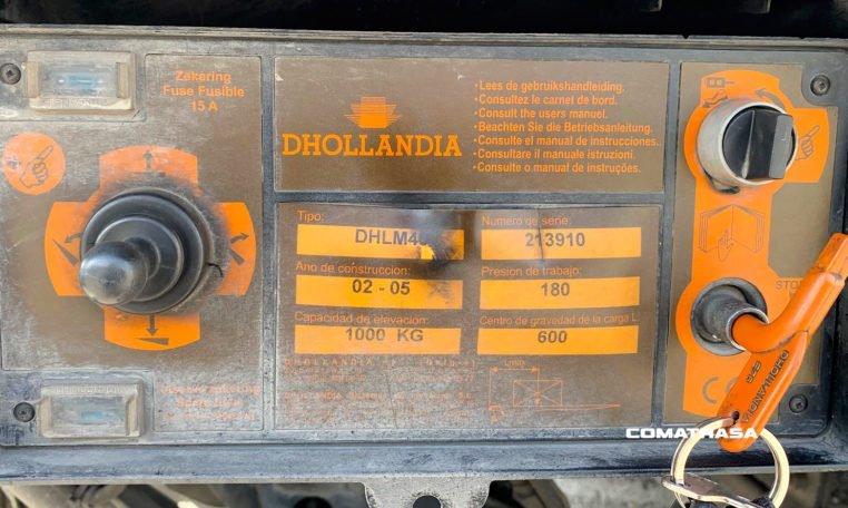 mando Dhollandia RENAULT 180.08 B
