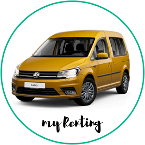 Renting Volkswagen Caddy Edition