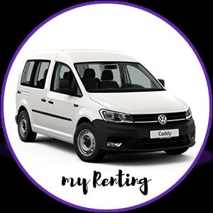 Renting Volkswagen Caddy Kombi