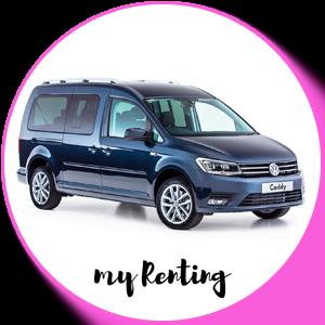 Renting Volkswagen Caddy Maxi