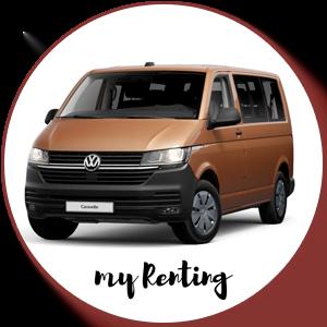 Renting Volkswagen Caravelle T6.1