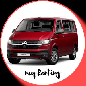 Renting Volkswagen Multivan T6.1