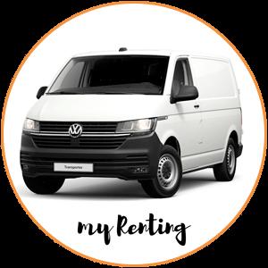 Renting Volkswagen Transporter T6.1