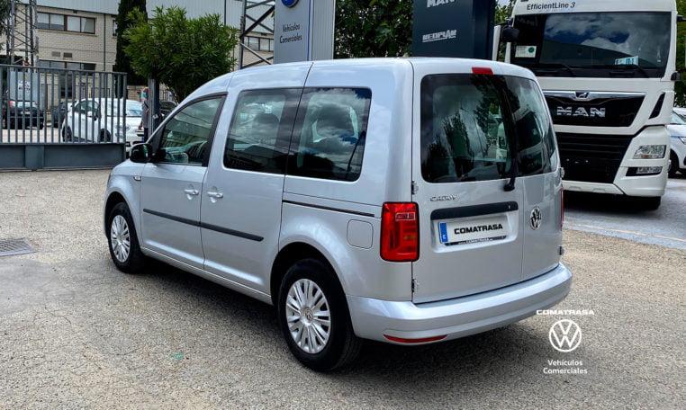 lateral izquierdo Volkswagen Caddy Trendline 2.0 TDI 102 CV 5 plazas