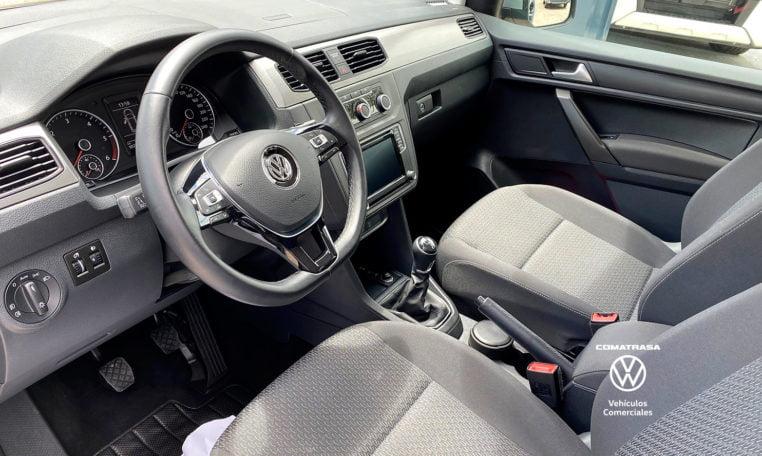 interior Volkswagen Caddy Trendline 2.0 TDI 102 CV 5 plazas