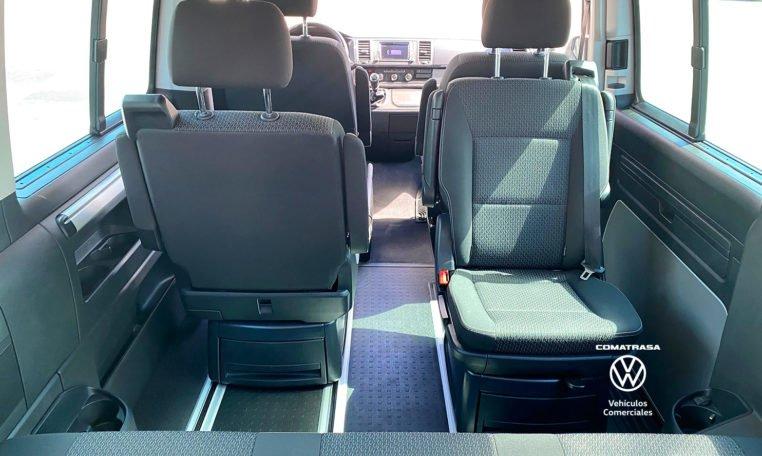 asientos giratorios Volkswagen Multivan Outdoor 150 CV