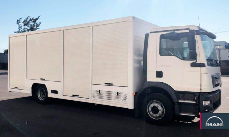 Camion botellero MAN TGM 15