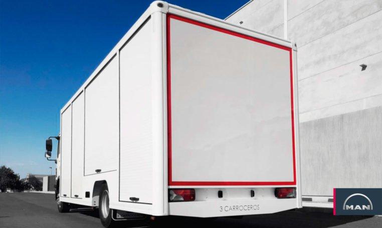 Carrocería MAN TGM camion botellero