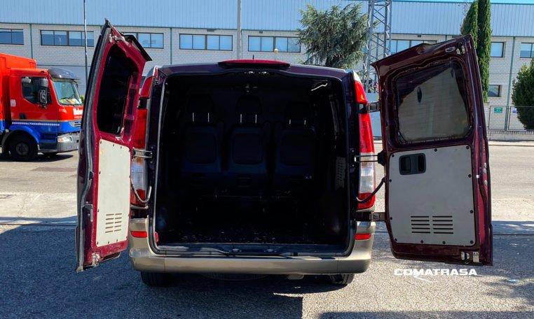 zona de carga Mercedes-Benz Vito 113 CDI