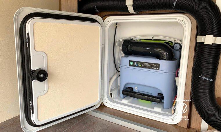 depósito Volkswagen Crafter 35 L3H3 Camperizada