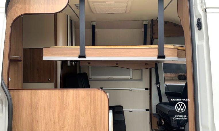 cama Volkswagen Crafter 35 L3H3 Camperizada