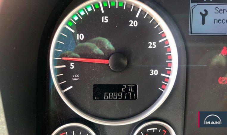 kilómetros MAN TGX 18.480 BLS Cabeza Tractora