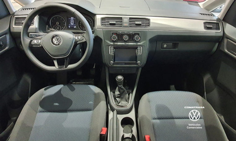 interior Volkswagen Caddy Maxi TGI