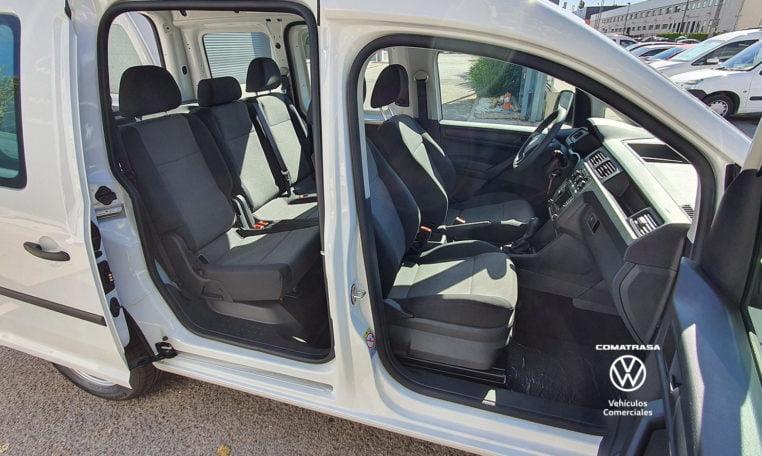 5 plazas Volkswagen Caddy Profesional Kombi