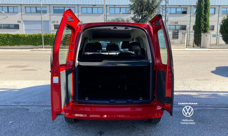 maletero Volkswagen Caddy Trendline