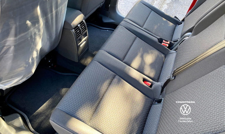asientos traseros Volkswagen Caddy Trendline