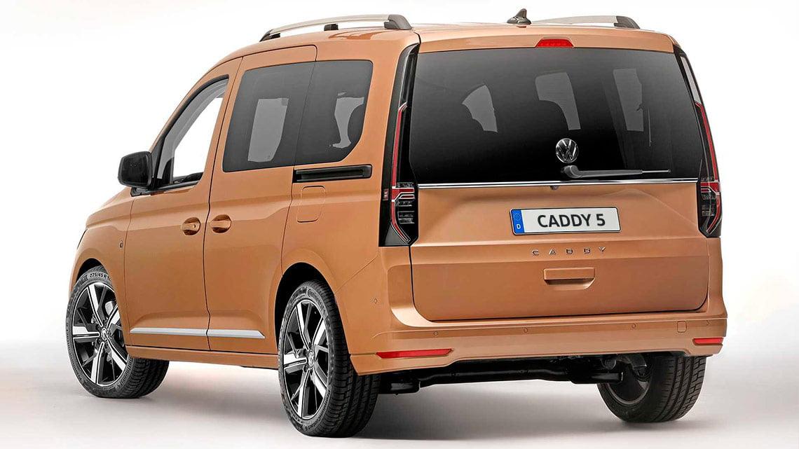 trasera Caddy 5