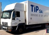 MAN LE 12.225 LLC Caja Cerrada con Trampilla Zepro