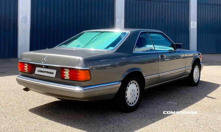 trasera Mercedes-Benz 560 SEC