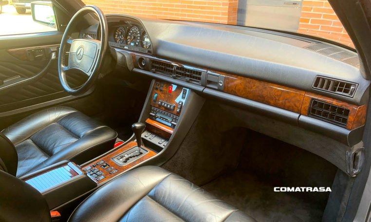 salpicadero Mercedes-Benz 560 SEC