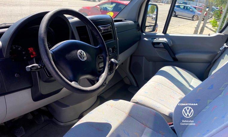 interior Volkswagen Crafter 35 2.5 TDI