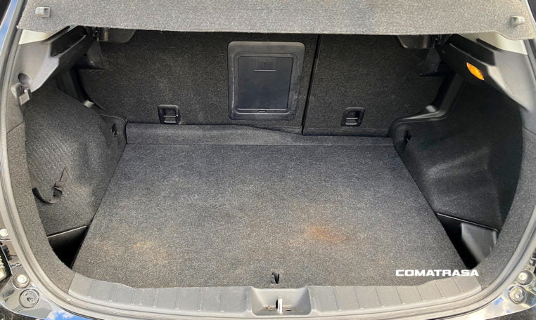 volumen maletero Citroen C4 Aircross