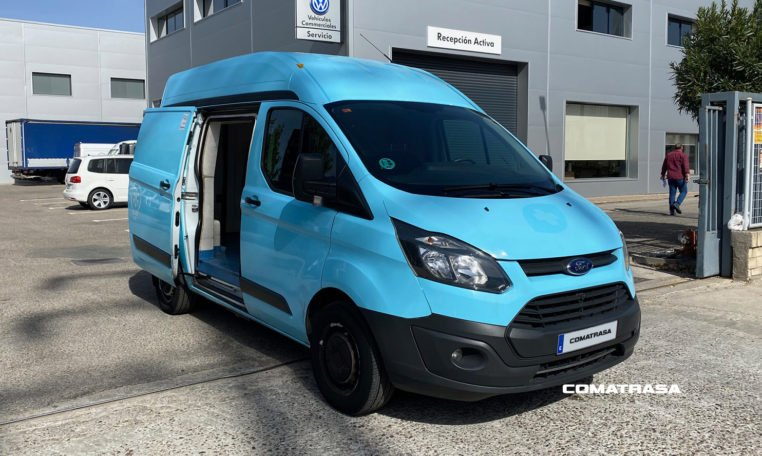 Isotermo 2017 Ford Transit Custom