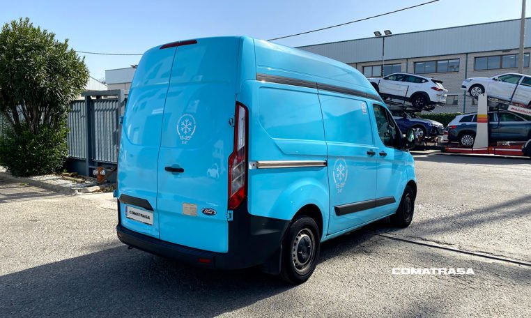 lateral erecho Ford Transit Custom Isotermo