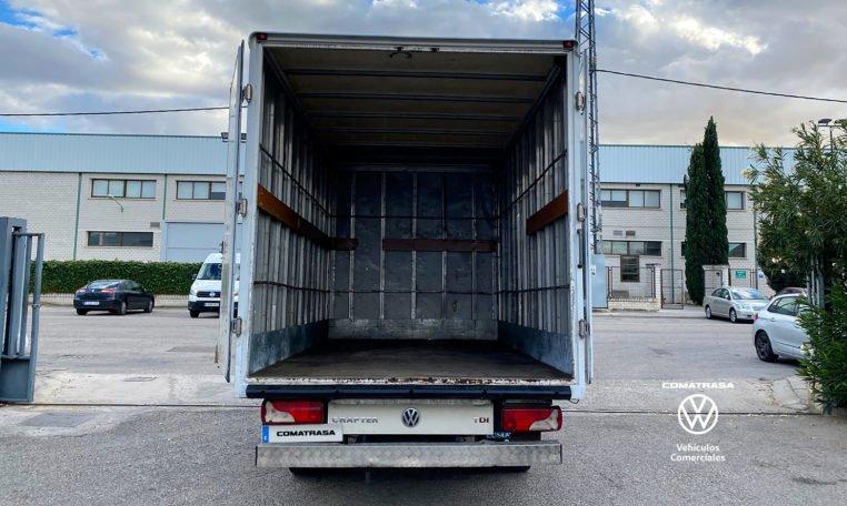 zona de carga Volkswagen Crafter Chasis Carrozado