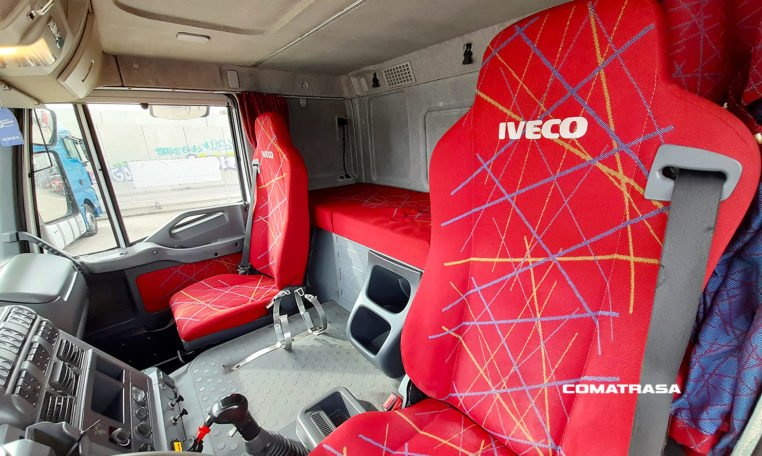 asientos Iveco Stralis 430 Tractora con Equipo Hidráulico