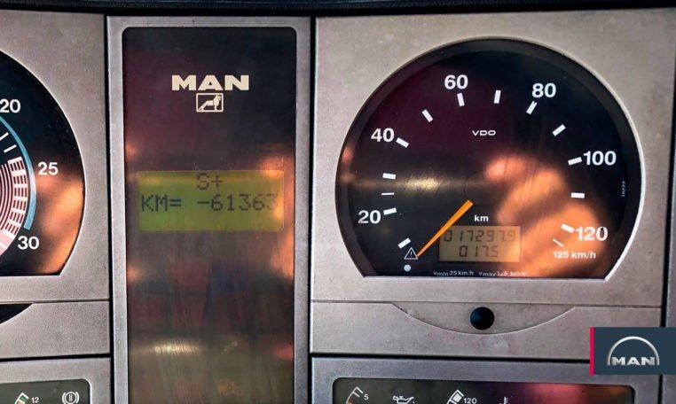 kilómetros MAN 18.285 MLC Semitauliner