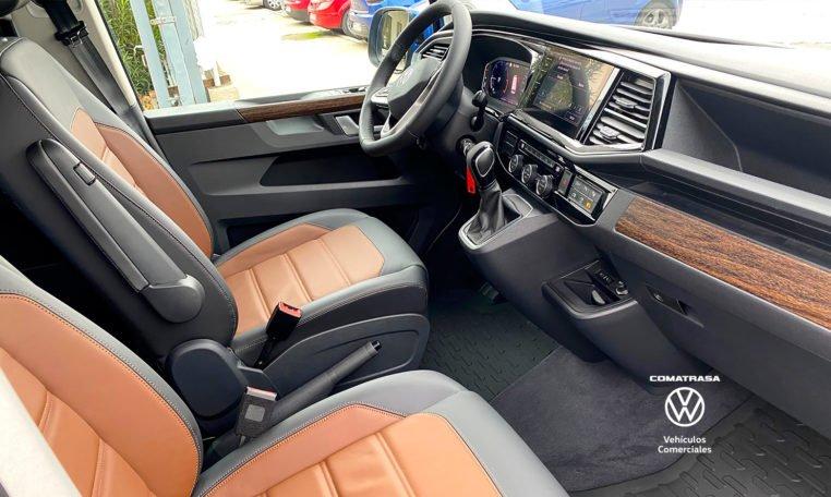 asientos de cuero Multivan Premium 6.1
