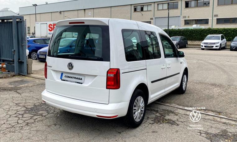 lateral derecho Volkswagen Caddy Trendline TSI