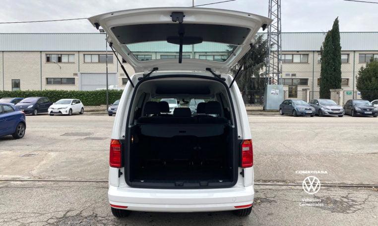 maletero Volkswagen Caddy Trendline TSI