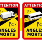 pegatinas ángulo muerto vehículos pesados