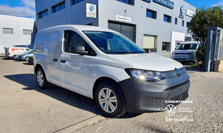 lateral Volkswagen Caddy 5 Cargo
