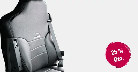 Funda asiento MAN cuero