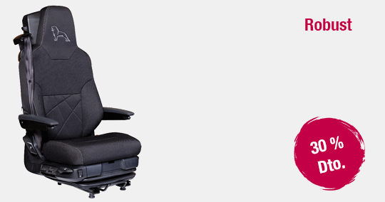 Funda asiento MAN Robust