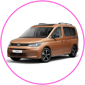 Renting Volkswagen Caddy 5 Outdoor