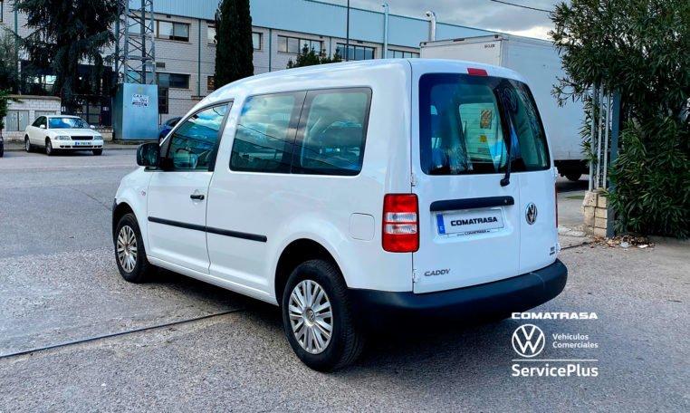 lateral izquierdo Volkswagen Caddy Pro Kombi