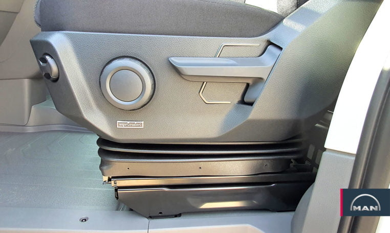 asiento MAN TGE 3180 automática