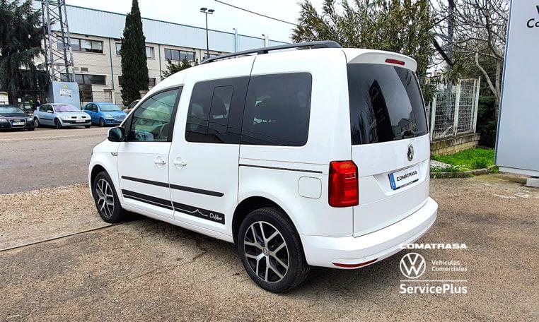 lateral izquierdo Volkswagen Caddy Outdoor