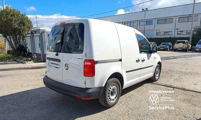 lateral Volkswagen Caddy Profesional 1.4 TGI