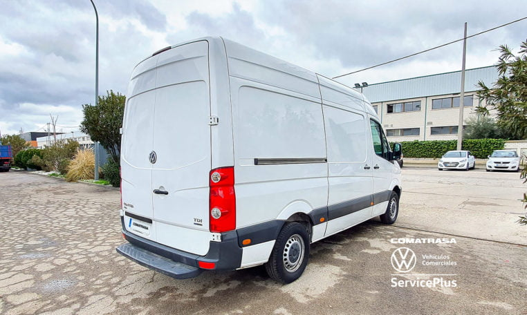 lateral derecho Volkswagen Crafter 30 L3H3 Isotermo