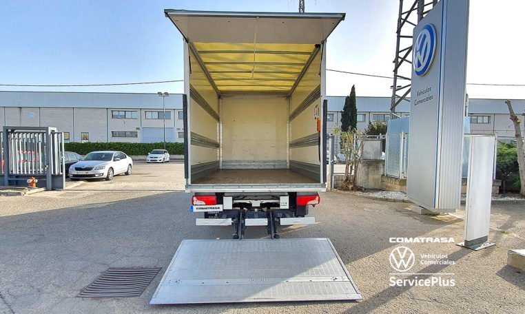trampilla Zepro Volkswagen Crafter Plywood 35