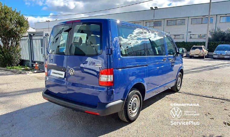 lateral derecho Volkswagen Transporter T5 114 CV