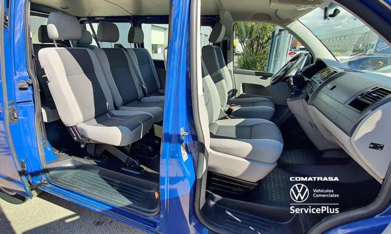 8 asientos Volkswagen Transporter T5 114 CV