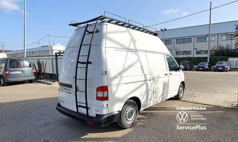 lateral Volkswagen Transporter T5